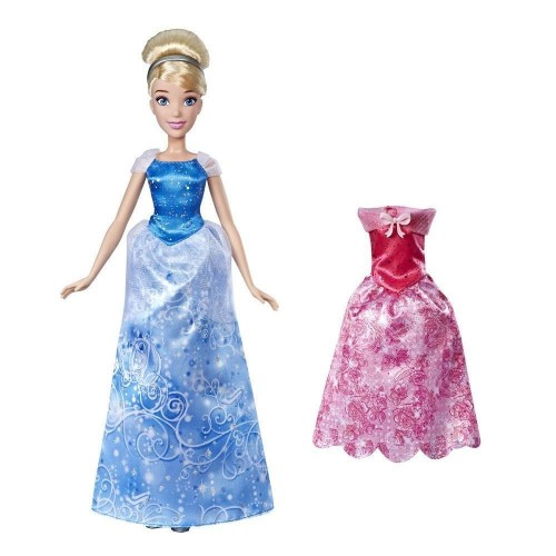4030849bc91 Hasbro Disney Princess Summer Day Styles, Σταχτοπούτα Κούκλα με 2 Φορέματα  E4589 / E4807 5010993555734