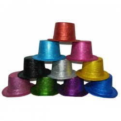 maskarata Καπέλο Ημίψηλο Glitter - Random Colours KK03066 6991208030668