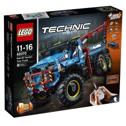 LEGO Technic 6X6 All Terrain Tow Truck 42070 5702015869768