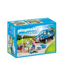 Playmobil Κινητή μονάδα κτηνιατρικής φροντίδας - Mobile Pet Groomer 9278 4008789092786