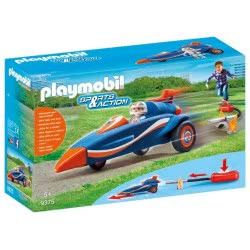 Playmobil Υπερηχητικό Αυτοκίνητο - Stomp Racer 9375 4008789093752