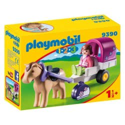 Playmobil Άμαξα με άλογο - Horse-Drawn Carriage 9390 4008789093905