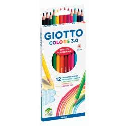 Giotto FILA Ξυλομπογιες Colors 3.0 12 Τεμάχια 0276600 8000825009907