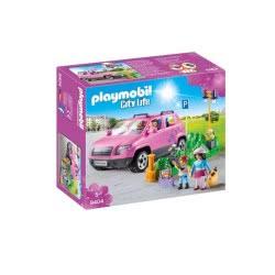 Playmobil Οικογενειακό Αμάξι Και Υπαίθριος Χώρος Στάθμευσης 9404 4008789094049