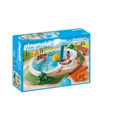 Playmobil Πισίνα Με Ντουζ - Swimming Pool 9422 4008789094223