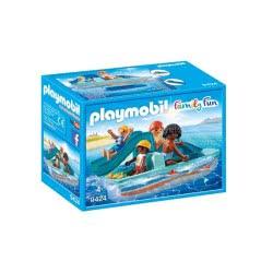 Playmobil Θαλάσσιο Ποδήλατο Με Τσουλήθρα - Paddle Boat 9424 4008789094247