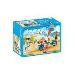 Playmobil Παγωτατζής Με Ποδήλατο Ψυγείο - Ice Cream Cart 9426 4008789094261