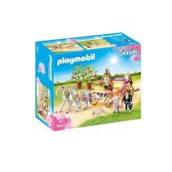 Playmobil Γαμήλια Άμαξα Με Νεόνυμφους - Wedding Carriage 9427 4008789094278