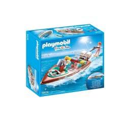 Playmobil Ταχύπλοο Με Υποβρύχιο Μοτέρ 9428 4008789094285
