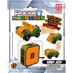 Just toys Pocket Morphers New Colours - 10 Designs 6889F 8886457668893