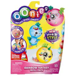 GIOCHI PREZIOSI Oonies - Refill Pack New Stick And Style - 3 Designs NEE04-000 8056379060475