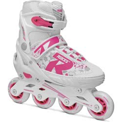 ROCES Inline Skates Rollers Jokey 2.0 No. 30-33 - White-Pink 18.400827/30W 8020187883199