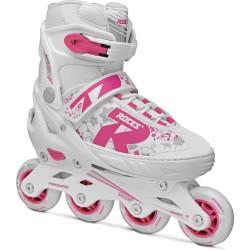 ROCES Inline Skates Rollers Jokey 2.0 Νο. 34-37 - White-Pink 18.400827/34W 8020187883205