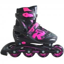 ROCES Inline Skates Rollers Jokey 2.0 Νο. 34-37 - Black-Pink 18.400827/34B 8020187883243