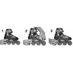ROCES Αυξομειούμενα Πατίνια Rollers Jokey 2.0 Νο. 34-37 - Μαύρο-Ροζ 18.400827/34B 8020187883243