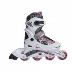 ΑΘΛΟΠΑΙΔΙΑ Inline Skates Νο 38-41 - White - Purple 002.1084/38/ΜΩΒ 5202200001527
