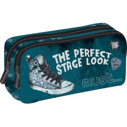 MUST Pencil Case with 2 Zippers Energy the Perfect Stage Look 579512 5205698435300