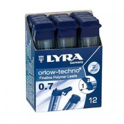 Diakakis imports Lyra Leads for Mechanical Pencil 0.7 B - 1 Piece 52725 4084900520383