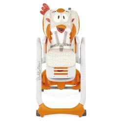 Chicco High Chair Polly 2 Start Fancy Chicken 96 - Orange P04-79205-96 8058664080663