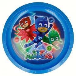 Stor PJ Masks - Πιτζαμοήρωες Παιδικό Πλαστικό Πιατάκι - Μπλε 089952 8412497019120
