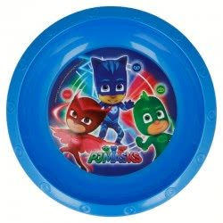 Stor PJ Masks - Πιτζαμοήρωες Παιδικό Μπωλάκι Πλαστικό - Μπλε 089953 8412497019113