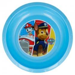 Stor Paw Patrol Kids Plastic Deep Plate - Blue 089767 8412497827114