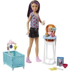 Mattel Barbie Σκίπερ Babysitter - Μια Μέρα Με Το Μωρό FHY98 887961531497