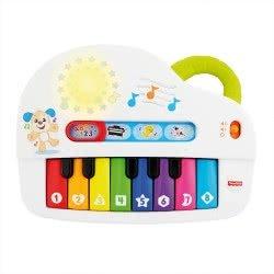 Fisher-Price Laugh And Learn Εκπαιδευτικό Πιάνο Με Φώτα GFV21 887961769906