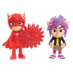 GIOCHI PREZIOSI Pj Masks Basic Figure Set Of 2 - 3 Designs PJM65000 8056379058045