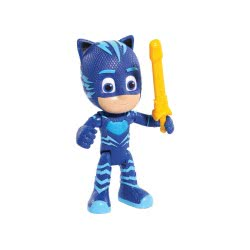 GIOCHI PREZIOSI Pj Masks Deluxe Figure With Speach(Greek) And Accessory - 3 Designs PJM93000 8056379071488