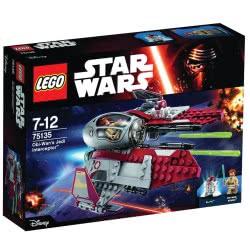 LEGO Star Wars Obi-Wan Jedi Interceptor Obi-Wan'S Jedi Interceptor 75135 5702015591652