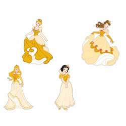 As company Princess Διακοσμητικό Τοίχου EVA Μεγάλο Princess 4800-81005 5203068810054