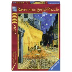 Ravensburger Παζλ 1000τεμ. Van Gogh: Νυχτερινό καφέ 15373 4005556153732