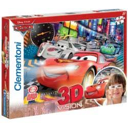 Clementoni Παζλ 104 κομμάτια Disney Cars 2 3D 1211-20044 8005125200443