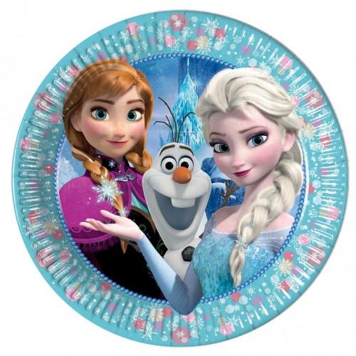 PROCOS Disney Frozen Classic Χάρτινα Πιάτα Μεγάλα 23 εκ. - 6 τμχ 091020 5201184910207