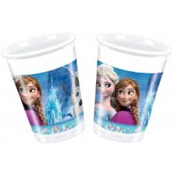 PROCOS Disney Frozen Classic Party Plastic Glasses - 8 Pieces 091023 5201184910238