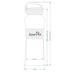 ion8 Παγούρι Ultimate Leak Proof 550 ml - Σιελ-Λευκό ΙΟΝ85-50SΕRWΗ 619098081596