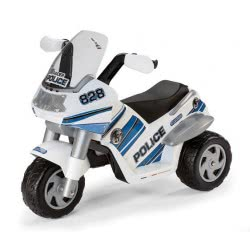 Peg-Perego Toys PEG-PEREGO ΜΠΑΤΑΡΙΟΚΙΝΗΤΗ ΜΗΧΑΝΗ 6V RAIDER POLICE ED0910 8005475313886
