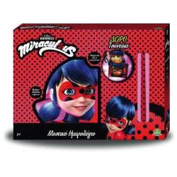 GIOCHI PREZIOSI Λαμπάδα Miraculous Ladybug Μυστικό Ημερολόγιο Μαξιλάρι MRA27000 8056379078654