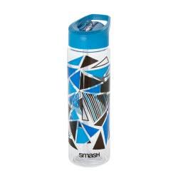 Smash Tritan Παγούρι Blue Γεωμετρικά Σχήματα 700ml - Μπλε 33-SMA-27635 9325448137868