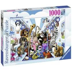 Ravensburger Παζλ Ενηλίκων 1000 τεμ. Οι Ήρωες τις DreamWorks 13975 4005556139750