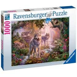 Ravensburger Παζλ Ενηλίκων 1000 τεμ. Οικογένεια Λύκων 15185 4005556151851