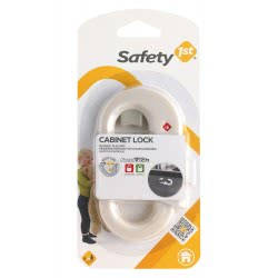 SAFETY 1st Cabinet Lock - White U01-39094-00 5019937390943